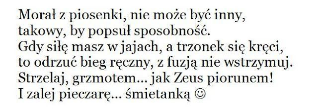 Marcin Łupkowski - prowincjonalny blog autorski z armagedonem w tle: Pikantne wierszyki nadają nowego smaczku