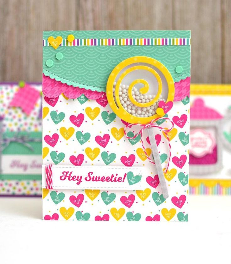 Celebrate the sweet things in life with our new Candy Land kit! Create fabulous shaker cards and elements with this fun kit. Click here to watch the Candyland