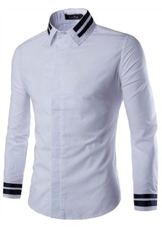 Camisa Casual Fashion New Style Sólida - Estilo Minimalista - en 5 Colores