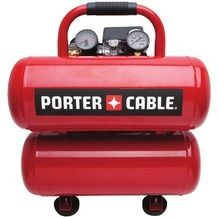 Porter Cable® Air Compressor 4 Gallon from Menards $99.00