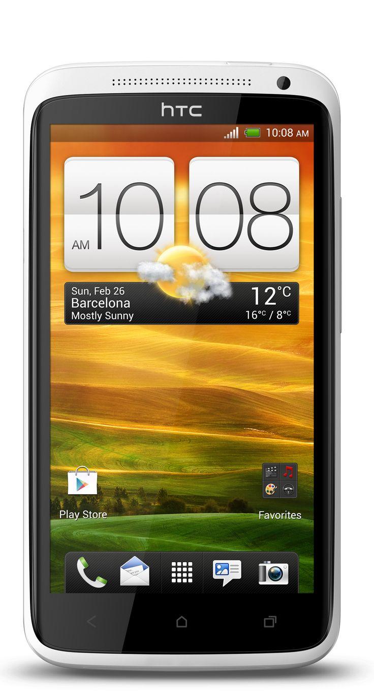 HTC One- X: HTC One X- s el smartphone más poderoso de la nueva línea HTC One. Posee una pantalla HD 720p de 4.7 pulgadas con tecnología Gorilla Glass, procesador quad-core Tegra 3 a 1.5GHz, cámara de 8 megapixels con captura de video full HD, Beats Audio, 1GB de RAM, 32GB de almacenamiento interno y corre Android 4.0 Ice Cream Sandwich con la interfaz de usuario Sense 4.0.  Also has alluminum casing.