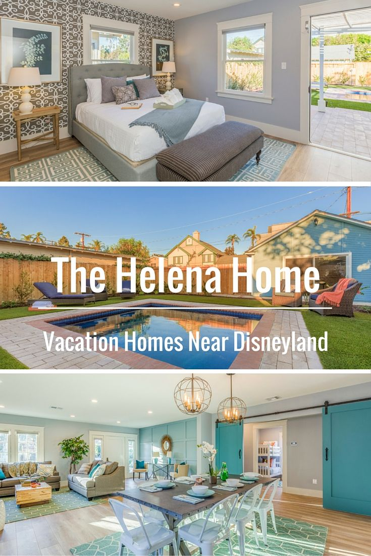 Beautiful and affordable Anaheim vacation homes near Disneyland. | The Helena Home by Twelve Springs has 4 bedrooms, 2 bathrooms, a pool, and a game room.