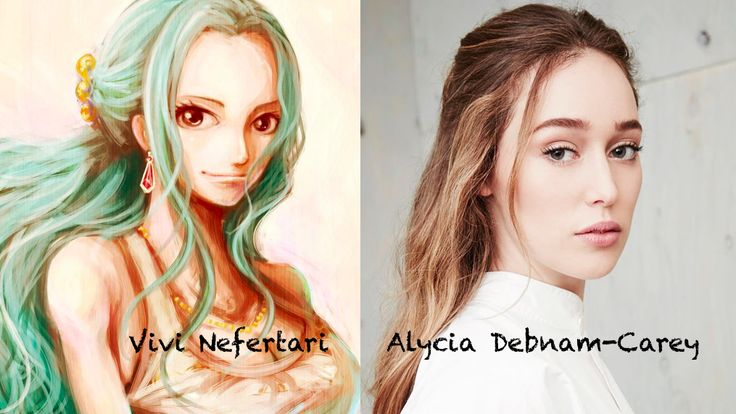 Vivi Nefertari as alycia debnam carey - one piece