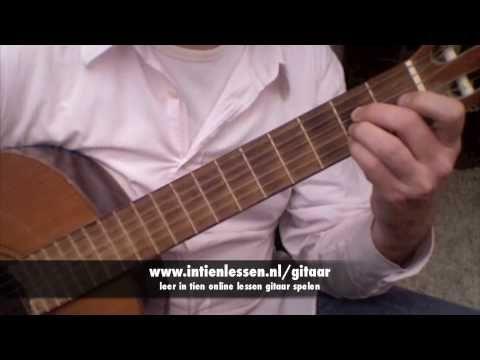 Les 2 - intienlessen online gitaar leren spelen