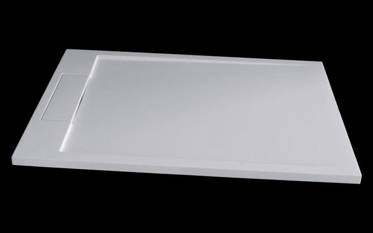 Mineralguss Duschtasse Duschwanne PB3085   Weiß Matt   120x90x3,5cm  Badewelt Duschkabine Duschtasse