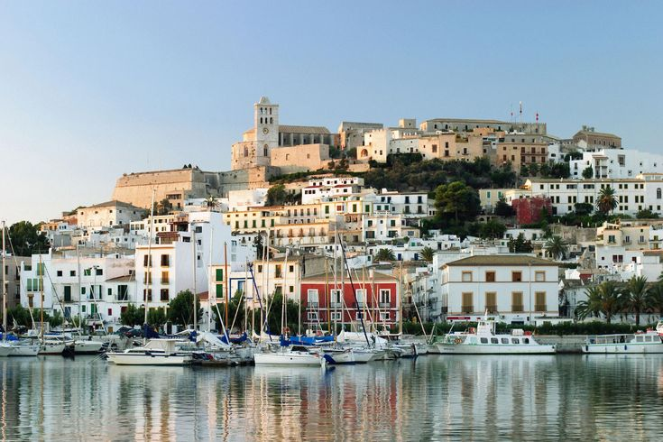 Ibiza...I see this pic & think it's beyond belief that my bff & I sat on the boatdock right beneath here 10 years ago...