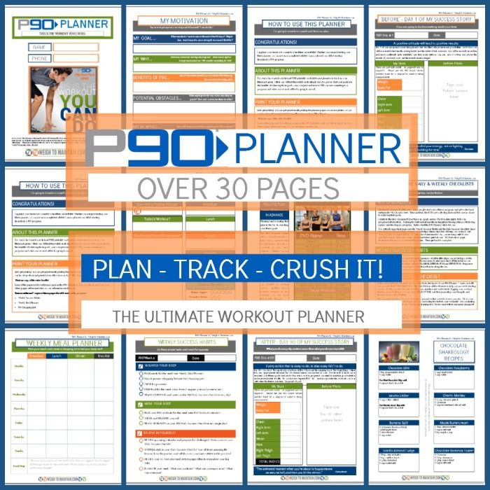 8 best images about p90 workout guide on pinterest a