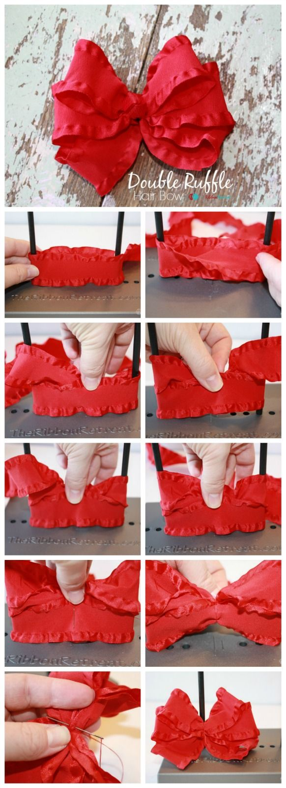 17 Best Ideas About Double Ruffle On Pinterest Bows For