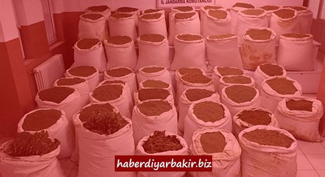 DIYARBAKIR -A total of 827.5 kilos of marijuana were seized, worth 27 million 130 thousand Turkish Liras on the market, in the operation a...