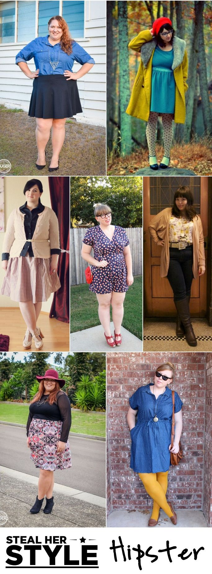 Suger Coat It: Living the Sweet Life | Steal Her Style: Hipster | http://sugercoatit.com | An Australia Plus-Size Fashion  Lifestyle Blog