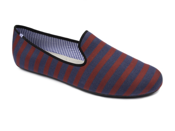 Costantino Navy Red Stripes