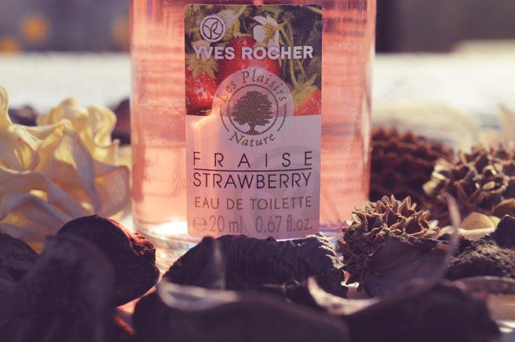 """JulieMcQueen: REVIEW Yves Rocher: Eau De Toilette """"Wild Strawberry"""" #REVIEW #YvesRocher #Eau #De #Toilette #Wild #Strawberry #beauty #sexy #perfume"""