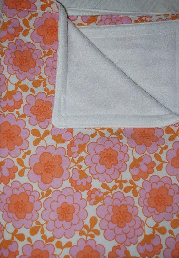 Leonora retro baby blanket