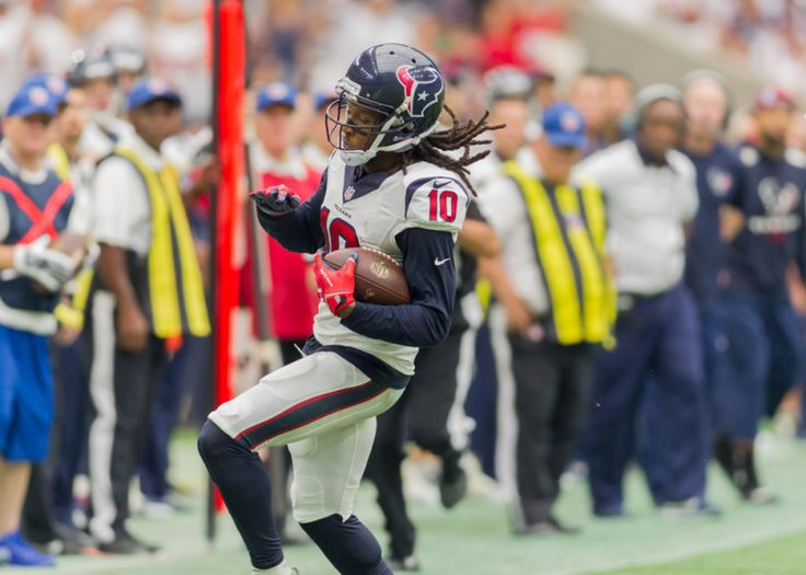 Fantasy Football: DeAndre Hopkins turning into elite WR1 - Although the NFL has become a wide receiver league, wide outs do not really dominate unless they play with a star quarterback.....