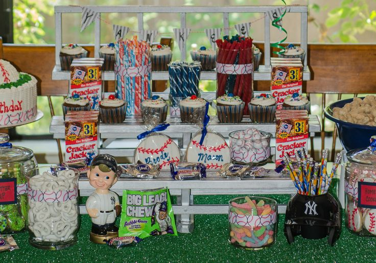 Baseball Theme Candy Buffet Choose Your Team