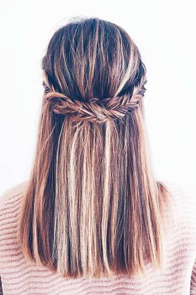 27 Easy Cute Hairstyles for Medium Hair