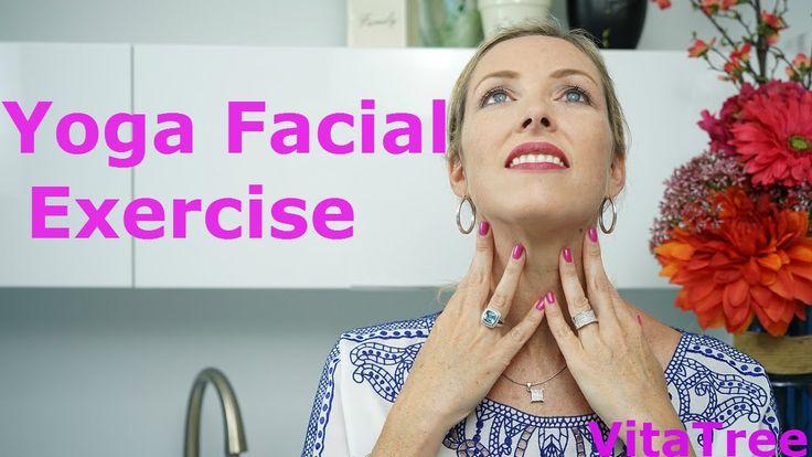Yoga Facial Exercises : How to Lose Sagging Jowls : Natural Face Lift - ...