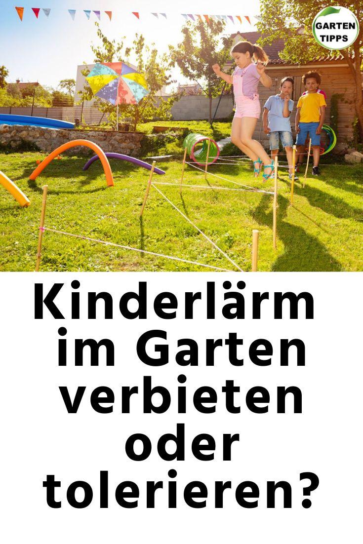 Kinderlärm Im Garten