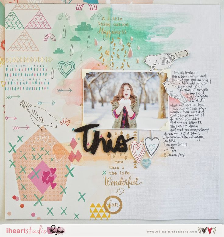 Pinkfresh Studio: Guest Designer: Wilna Furstenberg and winner for Up in the Clouds giveaway