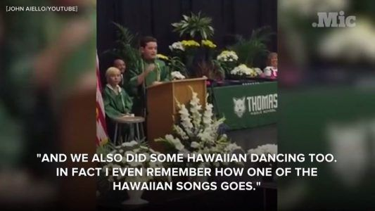 This 8th-grader delivered the most hilarious graduation speech with his incredible imperso #news #alternativenews
