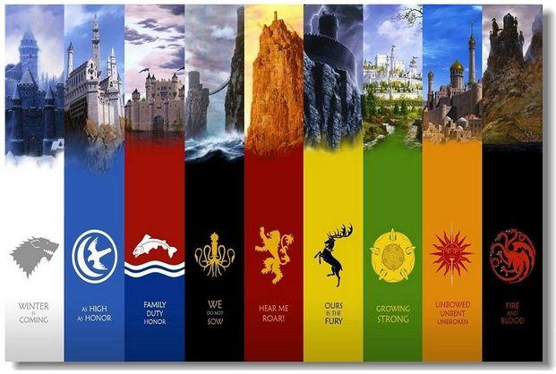 Купить игра престолов, game of thrones - постер, плакат, афиша №19 по низкой цене