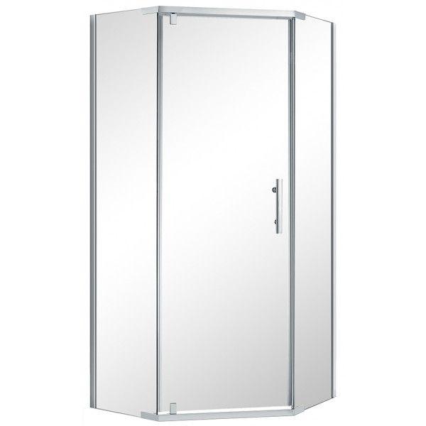 VOGUE Corner Angle Shower Door Kit * 1000mm * not including tray/liner $349
