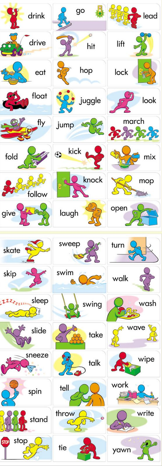 #verbs in #pictures 2