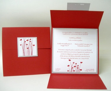 ideas para hacer tus tarjetas | Preparar tu boda es facilisimo.com