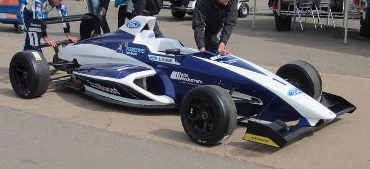 MSA Formula Ford car, uses 1600cc Ford EcoBoost turbocharged engine.