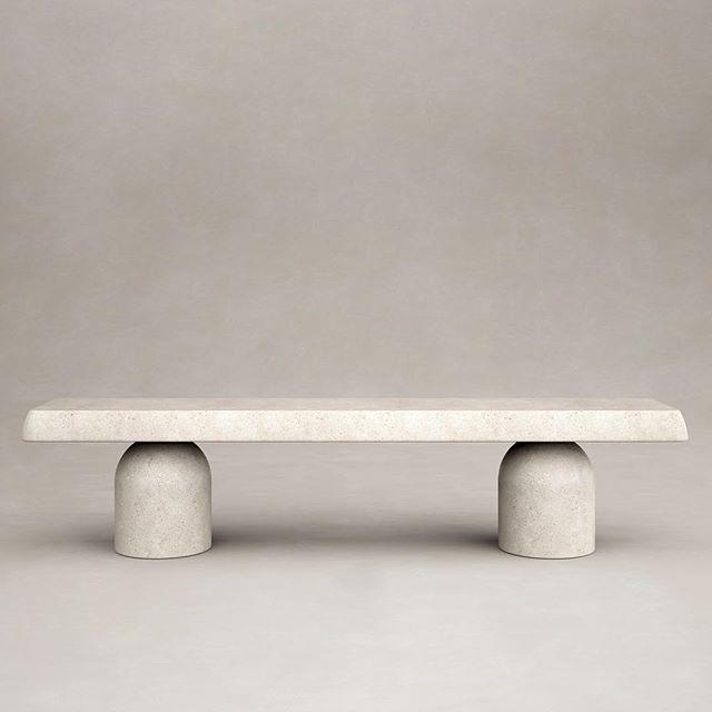 valerianelazardHenge Bench by Francesco Balzano and Valériane Lazard #stone #furniture #bench | Available upon request