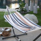 Island Bay XL Thick Rope Double Hammock with FREE Hanging Hardware - Hammocks at Hayneedle