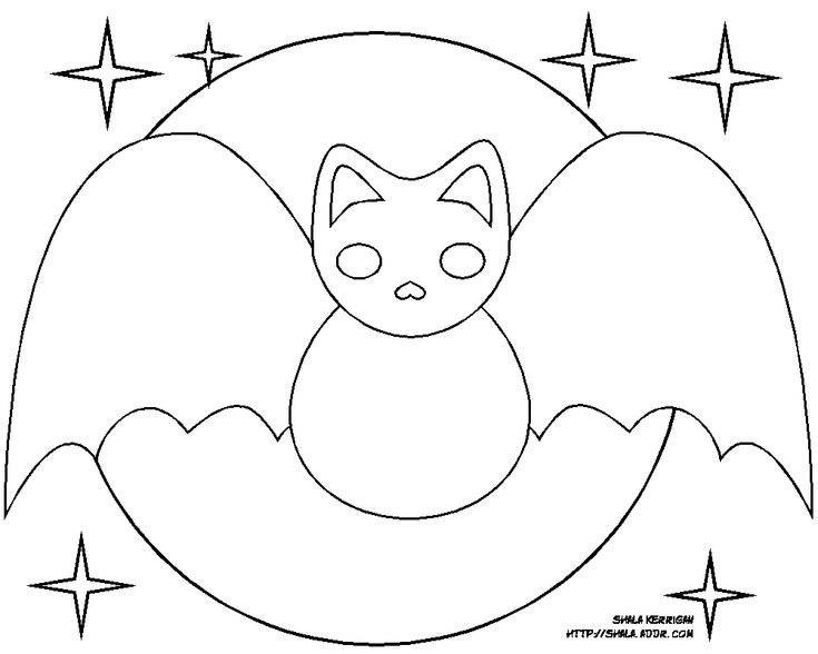 Simple Halloween Coloring Pages Printables