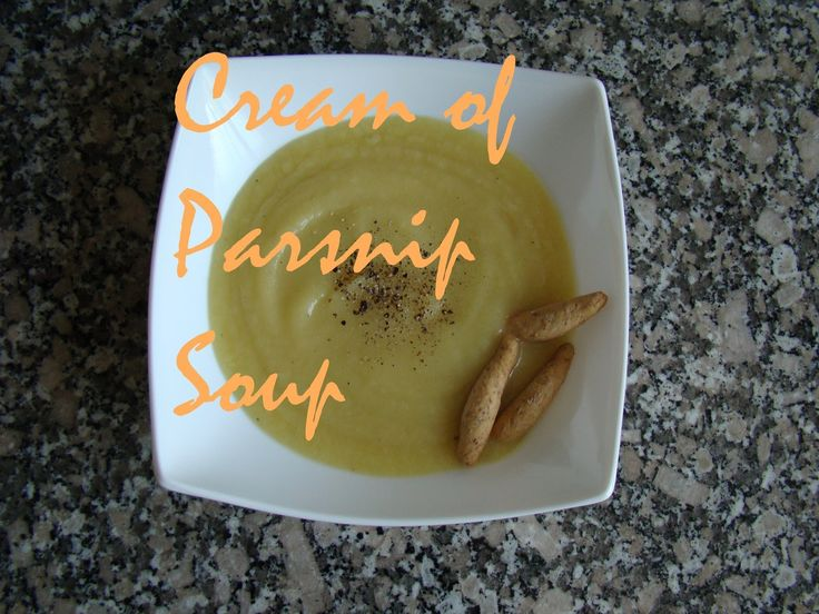 Cream of Parsnip Soup | booksandlavender.com