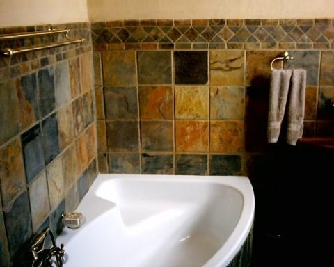 Bathrooms With Natural Stone Tiles