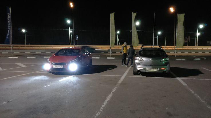 Mazda 3 MPS, KIA ceed GT