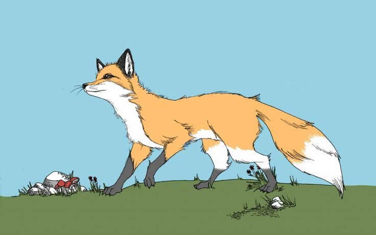 The Fox and the Crow: A Very Short Story for Kids with Pictures