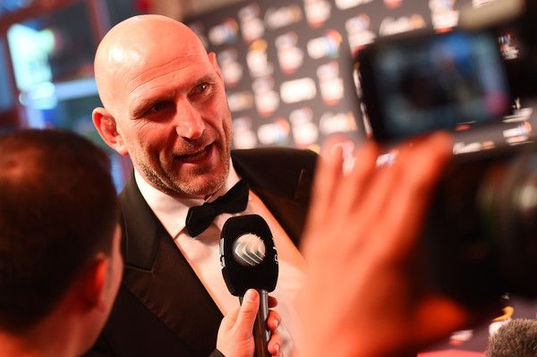 Lawrence Dallaglio Photos Photos - Former rugby player Lawrence Dallaglio poses on the red carpet at the BT Sport Industry Awards 2016 at Battersea Evolution on April 28, 2016 in London, England. The BT Sport Industry Awards is the most prestigious commercial sports awards ceremony in Europe, where over 1750 of the industry's key decision-makers mix with high profile sporting celebrities for the most important networking occasion in the sport business calendar. - BT Sport Industry Awards…