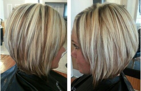 Highlight & lowlights hair