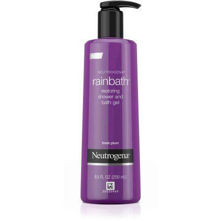Neutrogena Rainbath Restoring Shower and Bath Gel - Fresh Plum, 8.5 FL OZ