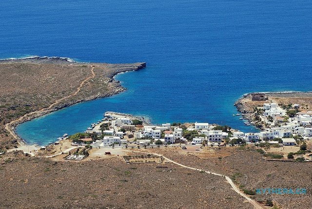 Avlemonas, Kythera (shooted from the Ag.Georgios monastiri-Vouno)