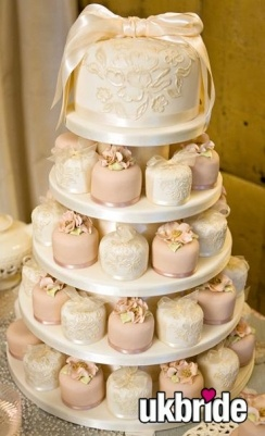 I want a pink and champagne wedding, and this is a unique alternative to the traditional cake. Yes, I'm planning already lol