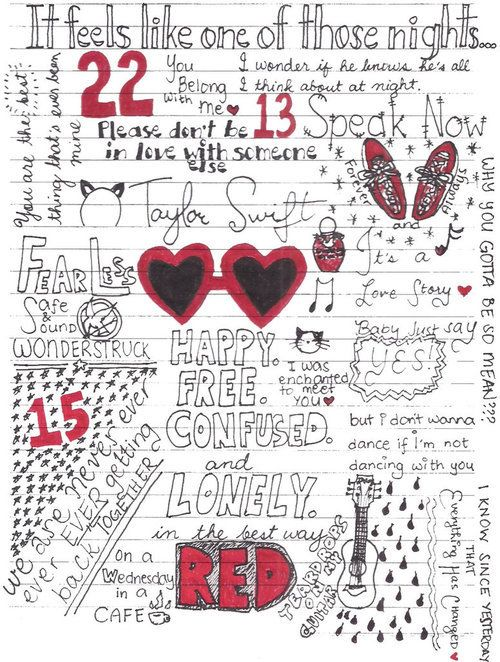 Taylor Swift RED lyrics :) | Quotes | Pinterest | Taylor ...