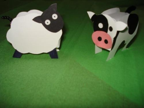 schaap en koe