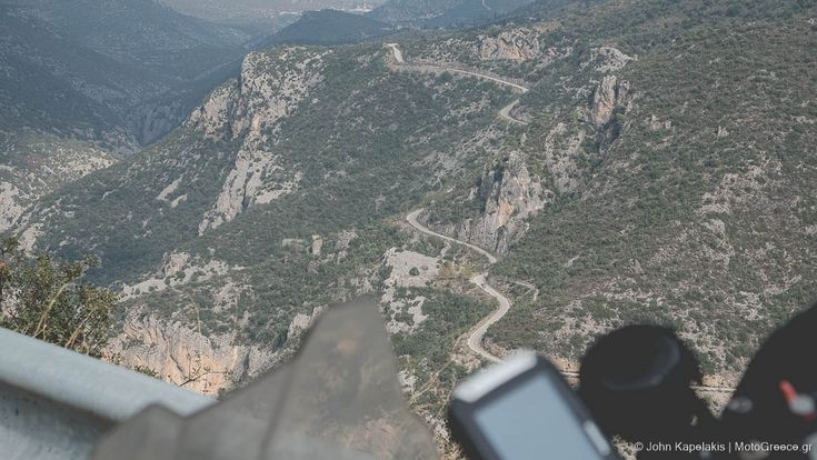 one of the many northern routes of Parnonas mountain