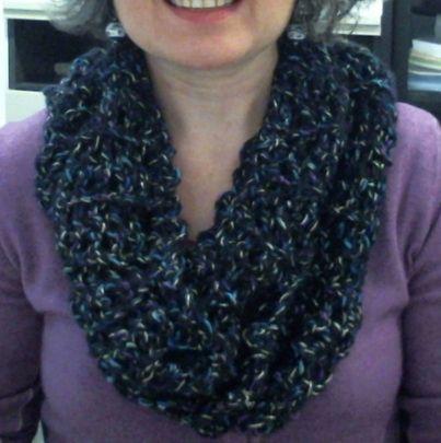 Infinity scarf :-)
