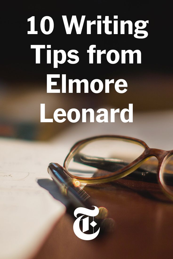 The prolific crime novelist Elmore Leonard shares 10 writing tips. (Photo: Piotr Redlinski for The New York Times)