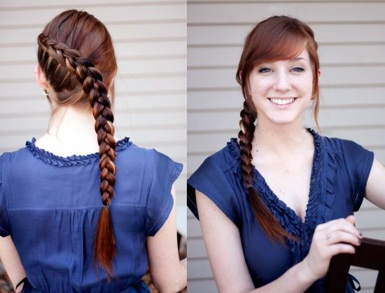 Katniss Braid- Step-by-step directions!: French Braids, Hairstyles, The Hunger Games, Makeup, Beautiful, Dutch Braids, Katniss Braids, Katniss Everdeen, Hair Style