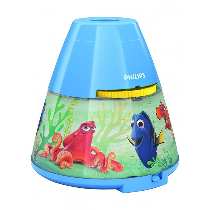 Leave your child spellbound with this magical Finding Dory LED Night Light and Projector by Philips.