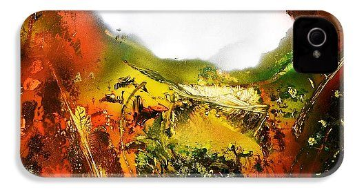 Golden Valley IPhone 4 / 4s Case Printed with Fine Art spray painting image Golden Valley by Nandor Molnar (When you visit the Shop, change the orientation, background color and image size as you wish)