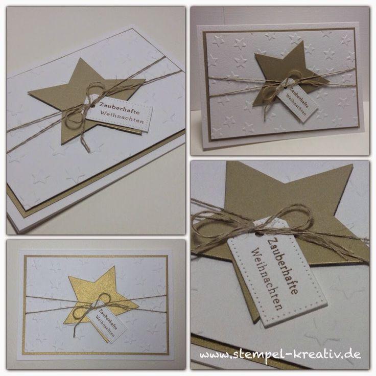 Stempel-Kreativ.de - Kreativ Karten gestalten: Zauberhafte Weihnachten ...